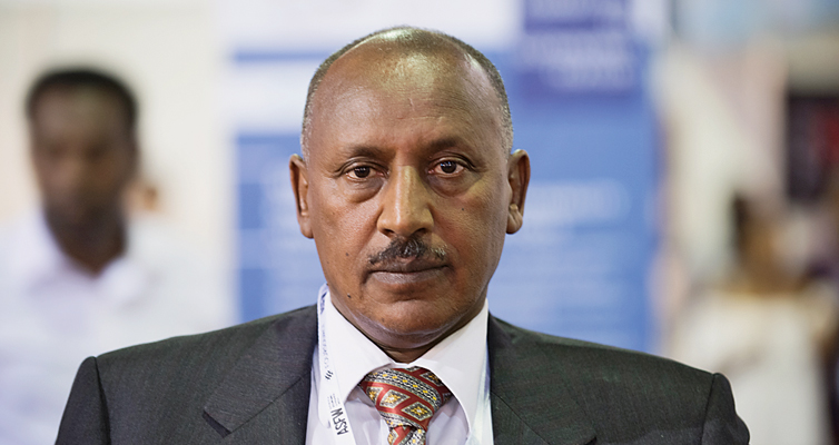 Fassil Tadesse, Chief Executive Officer of a textile company and President of the Ethiopian Textile and Garment Manufacturers' Association.