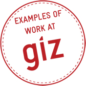 Examples of work at GIZ