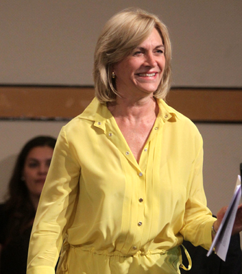 Evelyn Matthei (65), politician from Santiago de Chile, Chile