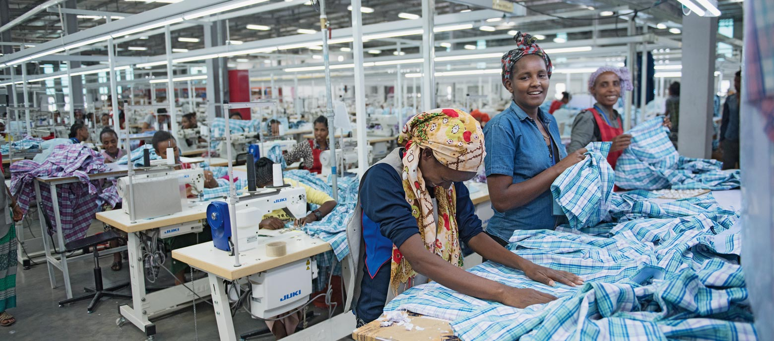 Textile industriy in Ethiopia: the stuff that futures are