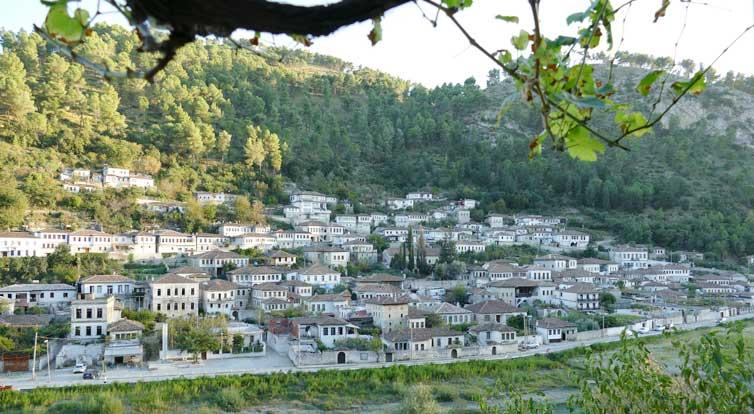 The central Albanian town of Berat is a Unesco World Heritage site.