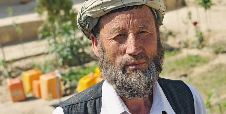 Faiz Mohammad is now settled in Hamdard. His family live in a proper house and his children go to school or have jobs.
