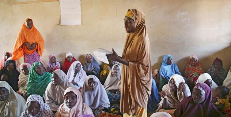 The women farmers of Dawakin Kudu in northern Nigeria benefit from courses run by the Women Farmers Advancement Network.