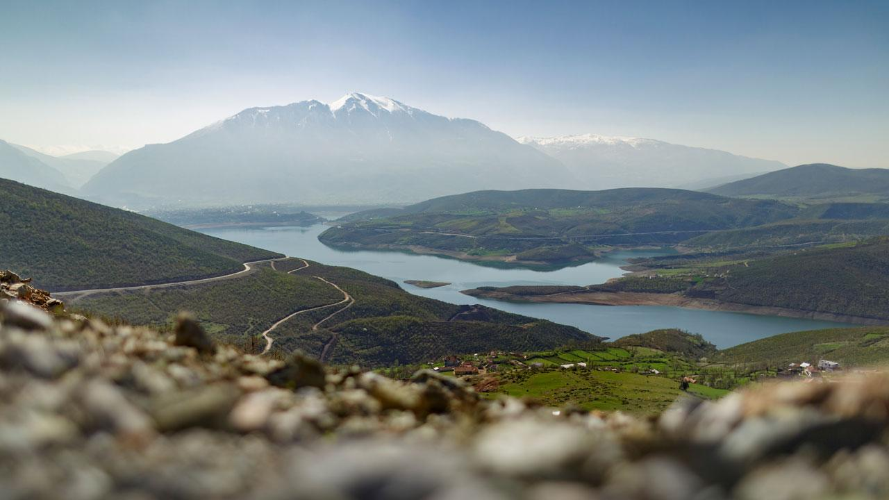<strong>An undiscovered hiker's paradise:</strong> Between 2010 and 2015, 192 km of hiking trails were developed in the border region between Kosovo, Albania and Montenegro: 'Peaks of the Balkans'. GIZ supports the local tourism industry on behalf of the German Government. <em>Photograph: Thomas Imo</em>