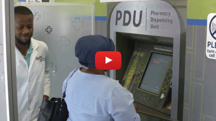 Pharmacy Dispensing Unit (PDU in Alexandra with all Sponsors